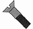 Flat Head Slotted Cap Screw