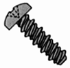 Pan Phillips High-Low Hex Lock Screw