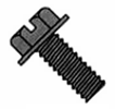 Indented Hex Washer Slotted Machine Screw