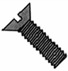 Flat Slotted Machine Screw