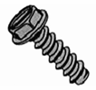 Indented Hex Washer Slotted B Self Tapping Screw