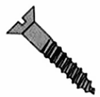 Flat Slotted Wood Screws
