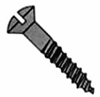 Oval Slotted Wood Screws