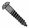 Round Slotted Wood Screws
