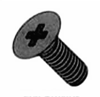 Flat Phillips 100 degree Machine Zinc Yellow Fasteners
