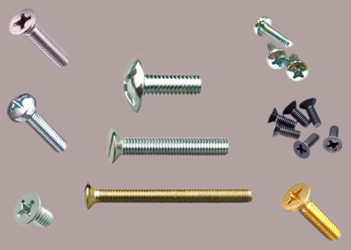 Slotted Pan Head Machine Screws, 316 SS Stainless Steel