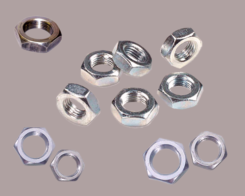 Finished Jam Hex Nut, 18-8 SS